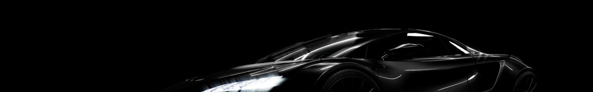 Czarne auto